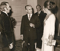 The Shah and Empress of Iran