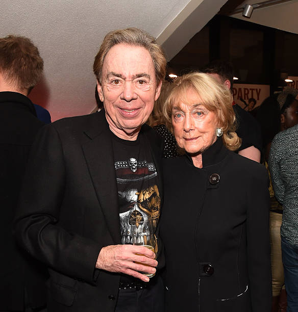 Gillian Lynne with Andrew Lloyd Webber